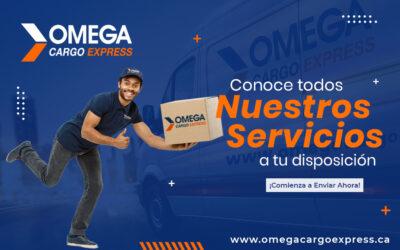 Conoce lo mejor de nuestros servicios en Omega Cargo Express