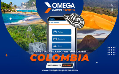¡Abre tu Casillero Virtual desde Colombia!